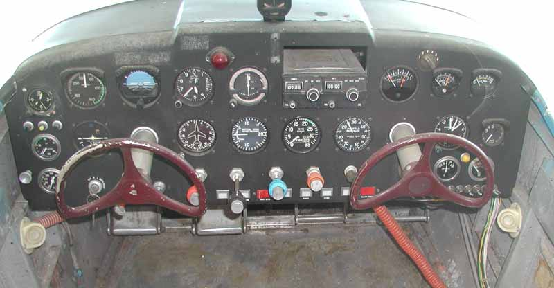 Swift N80919 old instrument panel.