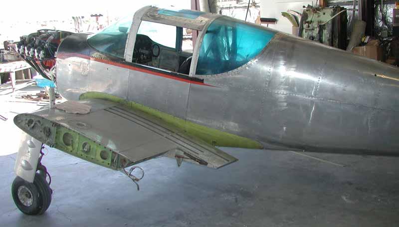 Swift N80919 left side of the fuselage.