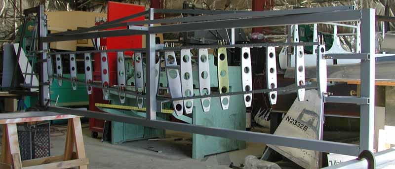 Swift horizontal stabilizer fixture.