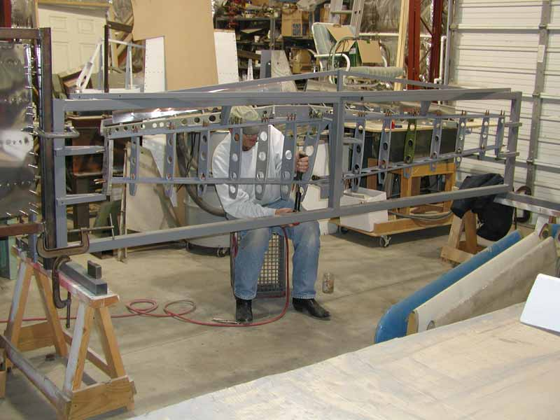 Swift horizontal stabilizer ribs.