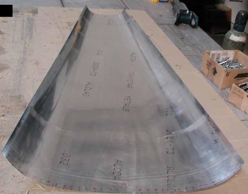 Swift lower-aft fuselage skin.