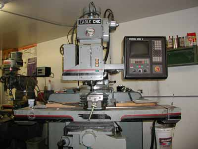 Eagle CNC Milling Machine.